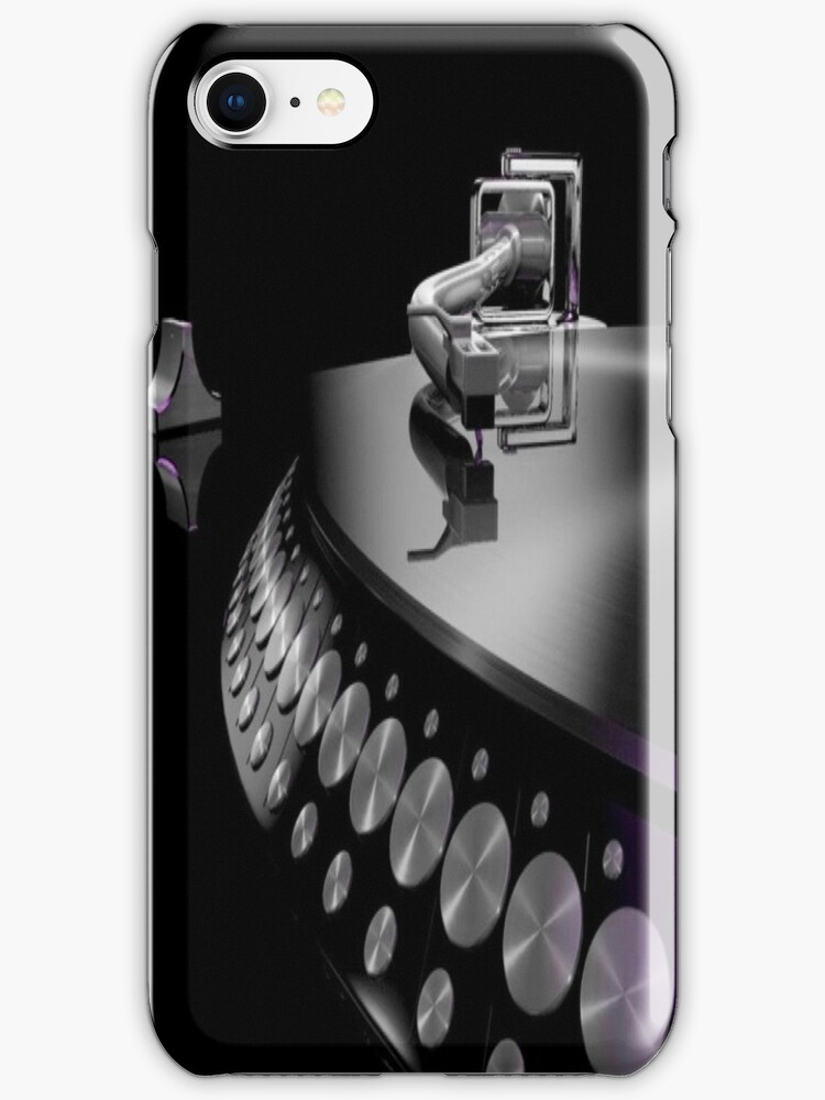 Turntable iPhone case 4/4s  by RLdesigns
