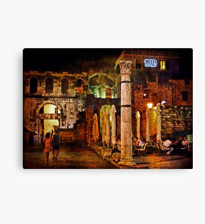 Diocletian's Palace Canvas Print