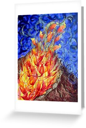The fire flower by Maraia