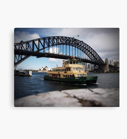 Ferry Canvas Print