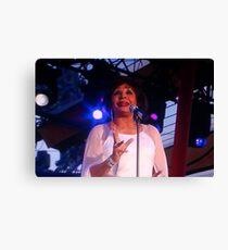 Dam Shirley Bassey Canvas Print