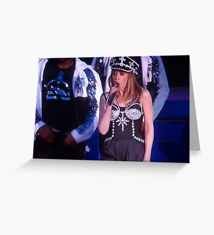 Kylie Minogue Greeting Card