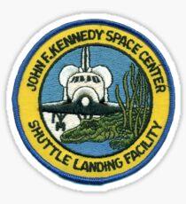 KSC Shuttle Landing Facility Logo Sticker