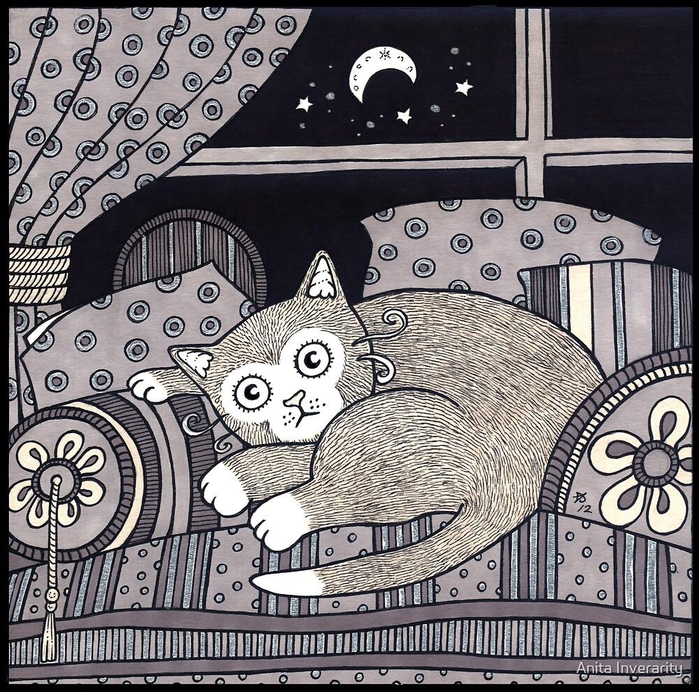 Cozy Cat by Anita Inverarity