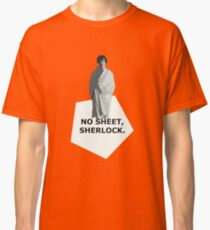 No sheet, Sherlock Classic T-Shirt