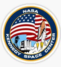 NASA's Kennedy Space Center Logo Sticker