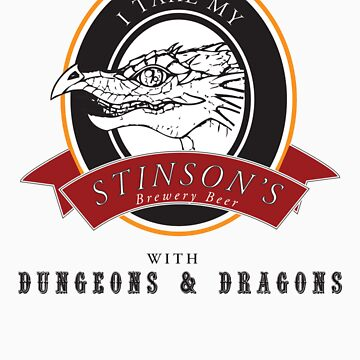 Stinson Brewery Beer and D&D by Pobbleton