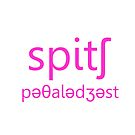 Speech Pathologist Pink by samohtbackwards