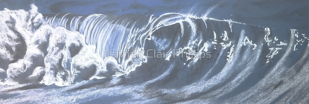 single beautiful wave by Hannah Clair Phillips