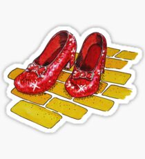 Ruby Slippers Wizard Of Oz Sticker