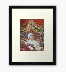 For The Love of Her Framed Print