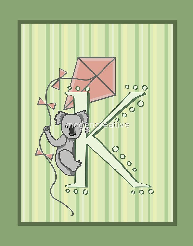 K is for Koala and Kite by mogencreative
