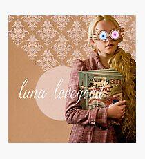 Luna Lovegood Photographic Print