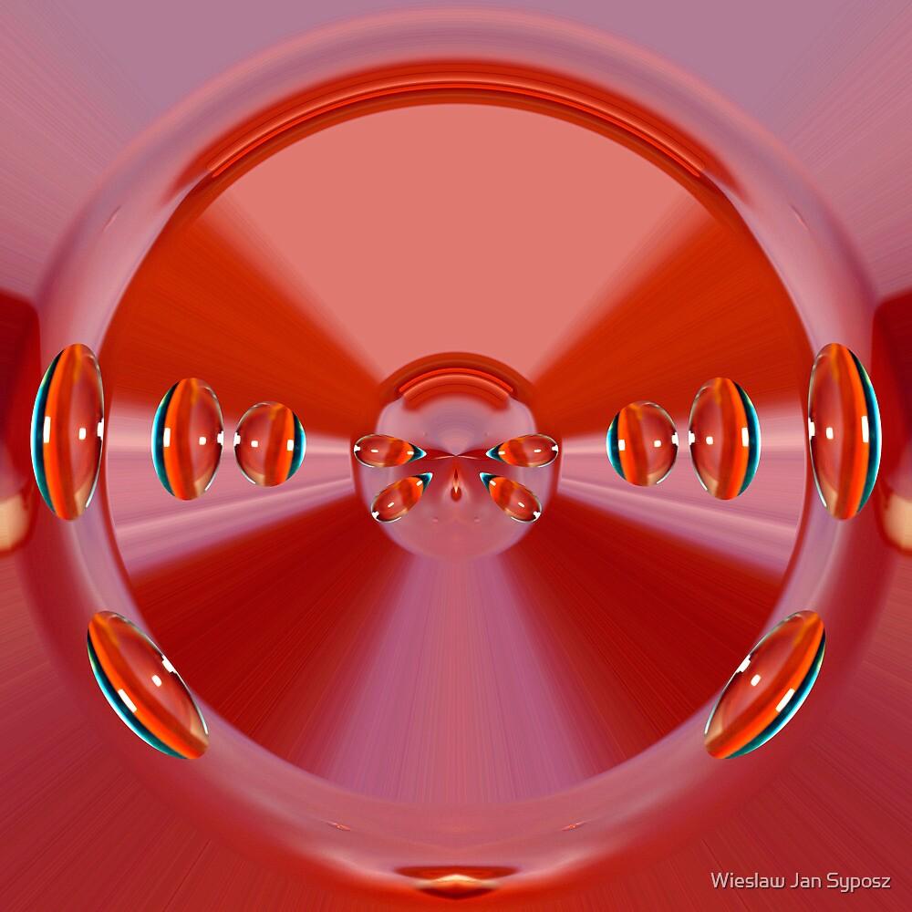 the Wheel  007 by Wieslaw Jan Syposz