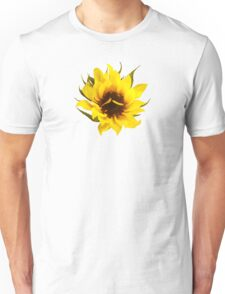Puzzled Sunflower Unisex T-Shirt