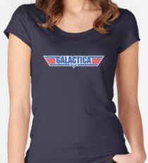 Galactica Women's Fitted Scoop T-Shirt