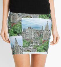 Washington Square Park Mini Skirt