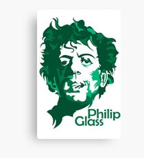 Philip Glass Canvas Print