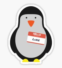 Luke Hemmings 5sos Penguin Sticker