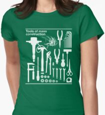 Tools of Mass Construction Women's Fitted T-Shirt