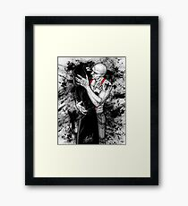 Religion is a joke Framed Print