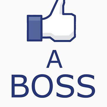 Like a boss by Ironik-Assassin