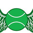 tennis winged  by asyrum