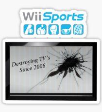 Wii Destruction Sticker
