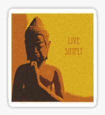 Live Simply Sticker