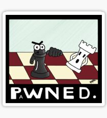Miscreants: You Just Got PaWNED! Sticker