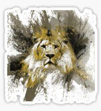 majestic lion Sticker