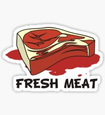 Fresh Meat Sticker