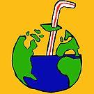 Earth Sticker by nickchic