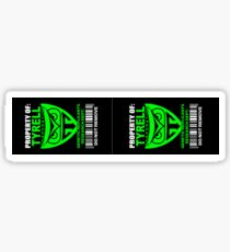 Property of Tyrell Corporation (2 Stickers) Sticker