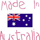 Made in Australia - Pink by AnnabelHC