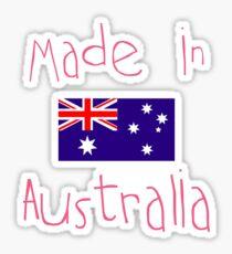 Made in Australia - Pink Sticker