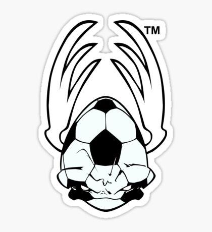 Sports Mascot - Soccer Ball Sticker