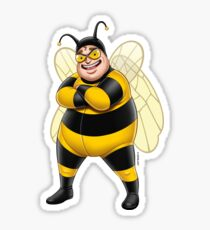 Superheroes - Bee-Boy Sticker