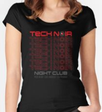 TECH NOIR Women's Fitted Scoop T-Shirt