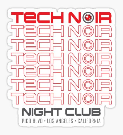 TECH NOIR Sticker