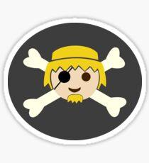 Pirate Playmobil Sticker