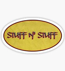 stuff n' stuff - sticker Sticker