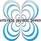 activate psychic powers - sticker by vampvamp