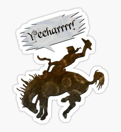 yeeharrrr! - sticker Sticker