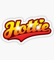 Hottie - sticker Sticker