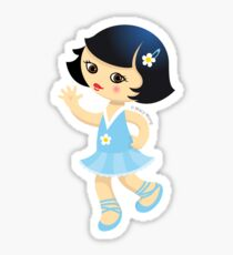 Ballerina Sticker