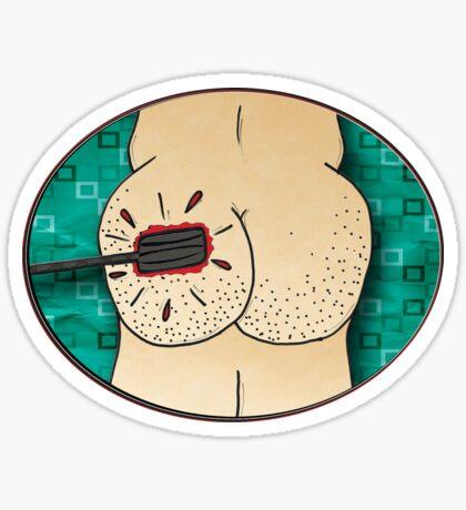 the sting - sticker Sticker