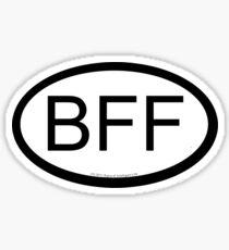 BFF location sticker Sticker