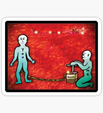 kaboom!!!! - sticker Sticker