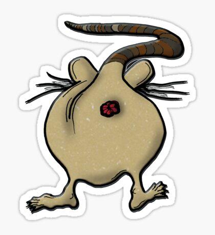 rat's ass!!!! - sticker Sticker